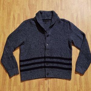 Banana Republic Blue Cardigan Sweater Men's Large